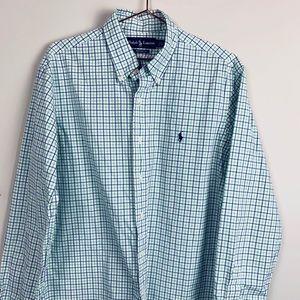 Polo Ralph Lauren Checked Oxford | Sz L